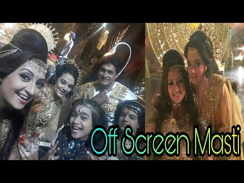 Off Screen Masti on Set of  Kartikey Malviya : Shani