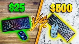 BROKE vs PRO Gaming Keyboard and Mouse - WORTH IT?