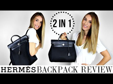 HERMES HERBAG 2 IN 1 BACKPACK & TOTE REVIEW | HONEST OPINIONS – YAY OR NAY? | Shea Whitney