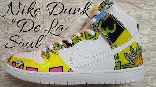 "Nike Dunk High Premium ""De La Soul"" Official Nike Store Unboxing and Review!"