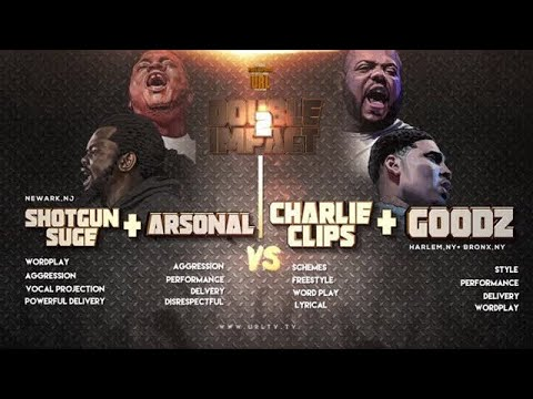 Download CHARLIE CLIPS + GOODZ VS ARSONAL + SHOTGUN SUGE SMACK/ URL RAP BATTLE | URLTV HD Mp4 3GP Video and MP3