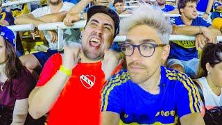 REACCIONES de HINCHAS de BOCA e INDEPENDIENTE en la BOMBONERA | Torneo Argentino 2020