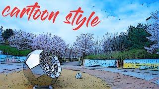 꽃날 Flower day DJI FPV 3inch (cartoon style)