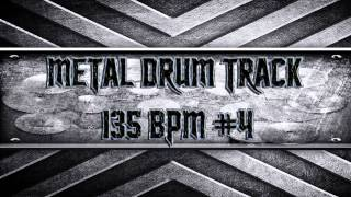 Djent/Prog Metal Drum Track 135 BPM (HQ,HD)