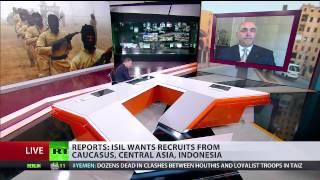 Ricardo Baretzky talks about ISIL threat on RT International