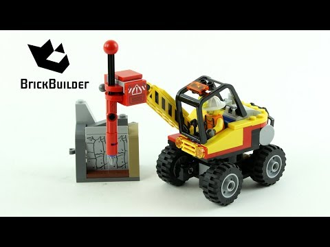 Lego City Mining Power Splitter 60185 - Lego Speed Build