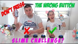 ♥ DON'T PRESS THE WRONG BUTTON SLIME CHALLENGE!   Pusheen Girl