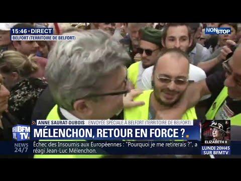 General Electric: Jean-Luc Mélenchon enfile un gilet jaune aux côtés des salariés à Belfort General Electric: Jean-Luc Mélenchon enfile un gilet jaune aux côtés des salariés à Belfort