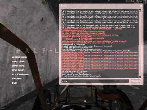Cheats for half life 2 on PC - смотреть онлайн на Hah Life