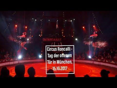 Circus Roncalli - Tag der Offenen Tür in München am 15.10.2017