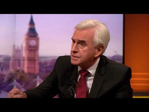 'This has had it's effect' John McDonnell on anti-Semitism | General Election 2019