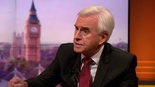 video: John McDonnell admits anti-semitism row may have damaged Labour's election chances