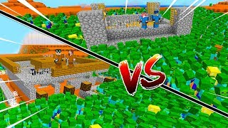 Minecraft ITA - Fortino VS Fortino VS Invasioni di mostri!! - W/Lyon