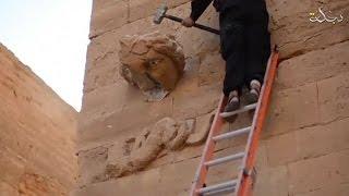Боевики ИГИЛ похвастались уничтожением древнего города Эль-Хадр
