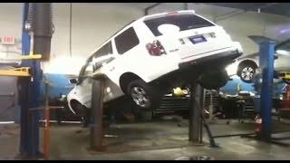 🔴 Случаи на подъемниках в автосервисах, Юмор | Надежное оборудование для автосервиса