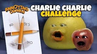 3AM CHARLIE CHARLIE CHALLENGE! [Grapefruit & Midget Apple] #Shocktober