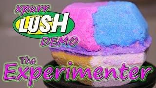 LUSH - Experimenter Bath Bomb - Underwater - Demo - Review