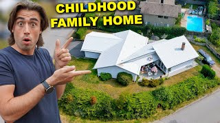 Bret Maverick – Repairing & Cleaning Our Childhood Family Home (We Came Back)