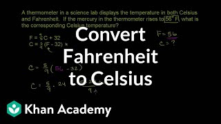 Converting Farenheit to Celsius