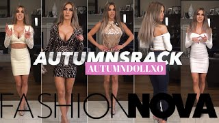 NEW Fashion Nova Haul Try On 2020 Tight Dresses Skirt Tight Wax Jeans Leggings Shiny Tight Crop Top