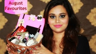 Image for video on August Favorites 2016  | Skin, Makeup, Hair, Jewellery by Bakeup & Makeup