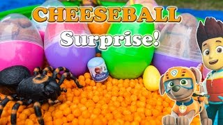 SURPRISE EGGS Disney Funny Paw Patrol + Funny Pig + Blaze World Largest Surprise Egg Toys Video