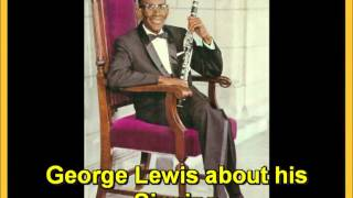 George Lewis about his Singing