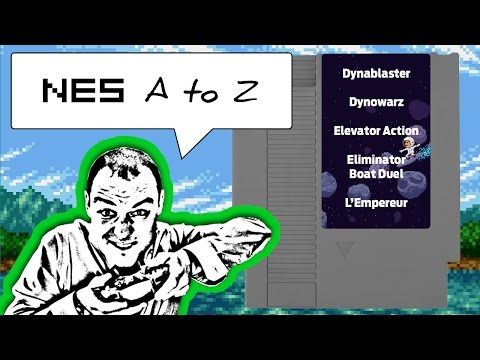 NES AtoZ 42 | Let's Play Dynablaster, Dynowarz, Elevator Action, Eliminator Boat Duel and L'Empereur