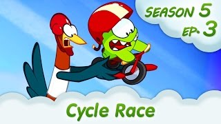 Om Nom Stories: Cycle Race (Around the World, Episode 3) Cut the rope @KEDOO ANIMATIONS 4 KIDS