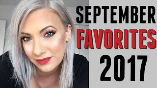 SEPTEMBER FAVORITES 2017: Shoes, fashion, makeup, and books!