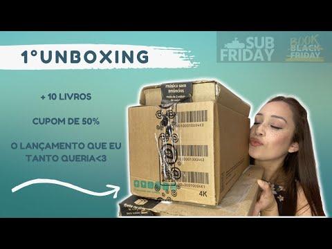 #1 UNBOXING LIVROS: BOOKFRIDAY E SUBFRIDAY 💸📦 | Amanda Moreira