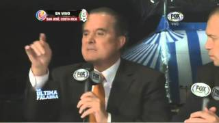 1/3 Costa Rica 2 México 1, Eliminatorias Concacaf, Ultima Palabra, 15Oct2013