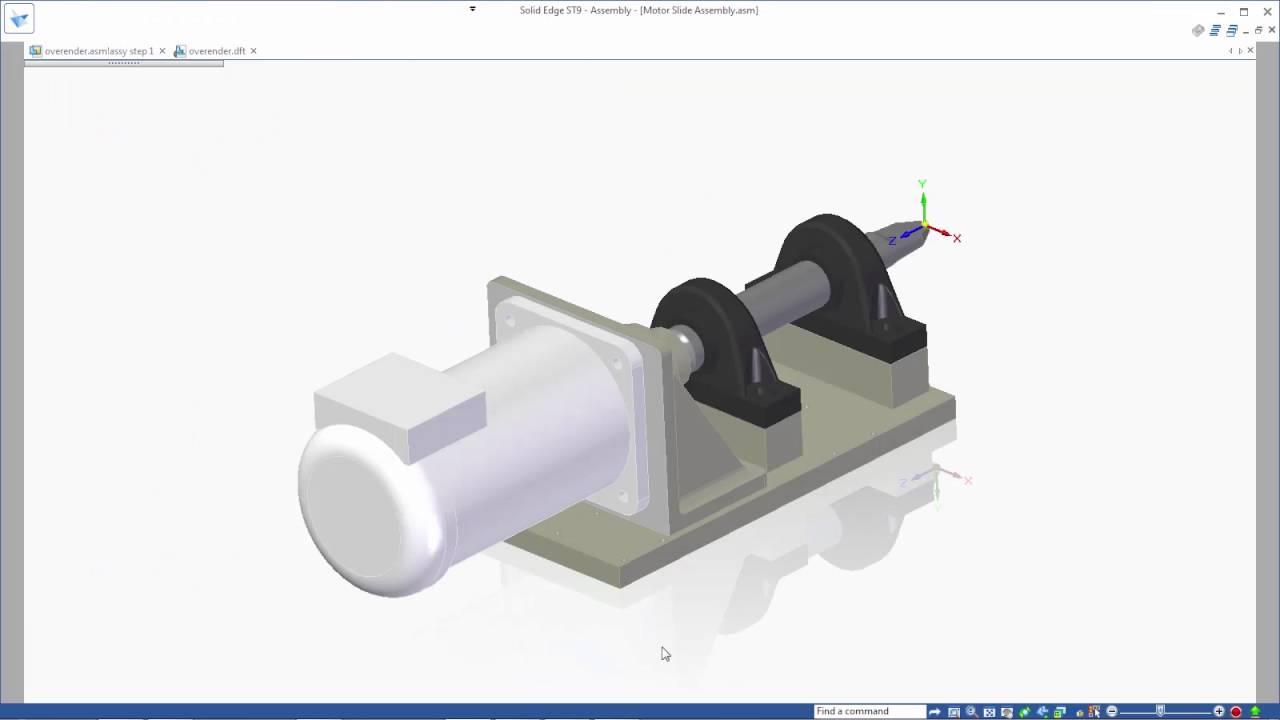 Vorschaubild: Solid Edge ST9: Migration von SolidWorks Daten