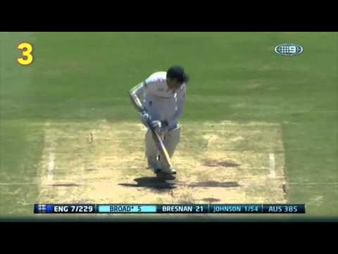 Download Top 10 Aussie Ashes wickets HD Mp4 3GP Video and MP3
