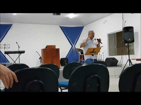 Parte do Culto Ensino 10/01/2018 Primeira Igreja Batista em Anaurilandia MS