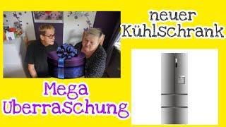Mega Überraschungspaket ❤️ | unser neuer Kühlschrank| Haier french Door | UnsereWelt| Ille und Irmi