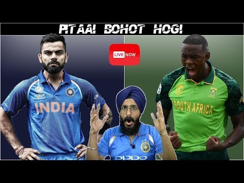 India Vs South Africa Live Match REACTION | MUQABALA | 2nd T20 | IND VS SA | Live Score and Reaction