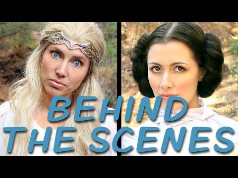 Download GALADRIEL vs LEIA Behind the Scenes (Princess Rap Battle) *explicit* Mp4 HD Video and MP3