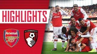 DAVID LUIZ'S FIRST ARSENAL GOAL! | Arsenal 1 - 0 Bournemouth | Goals & highlights