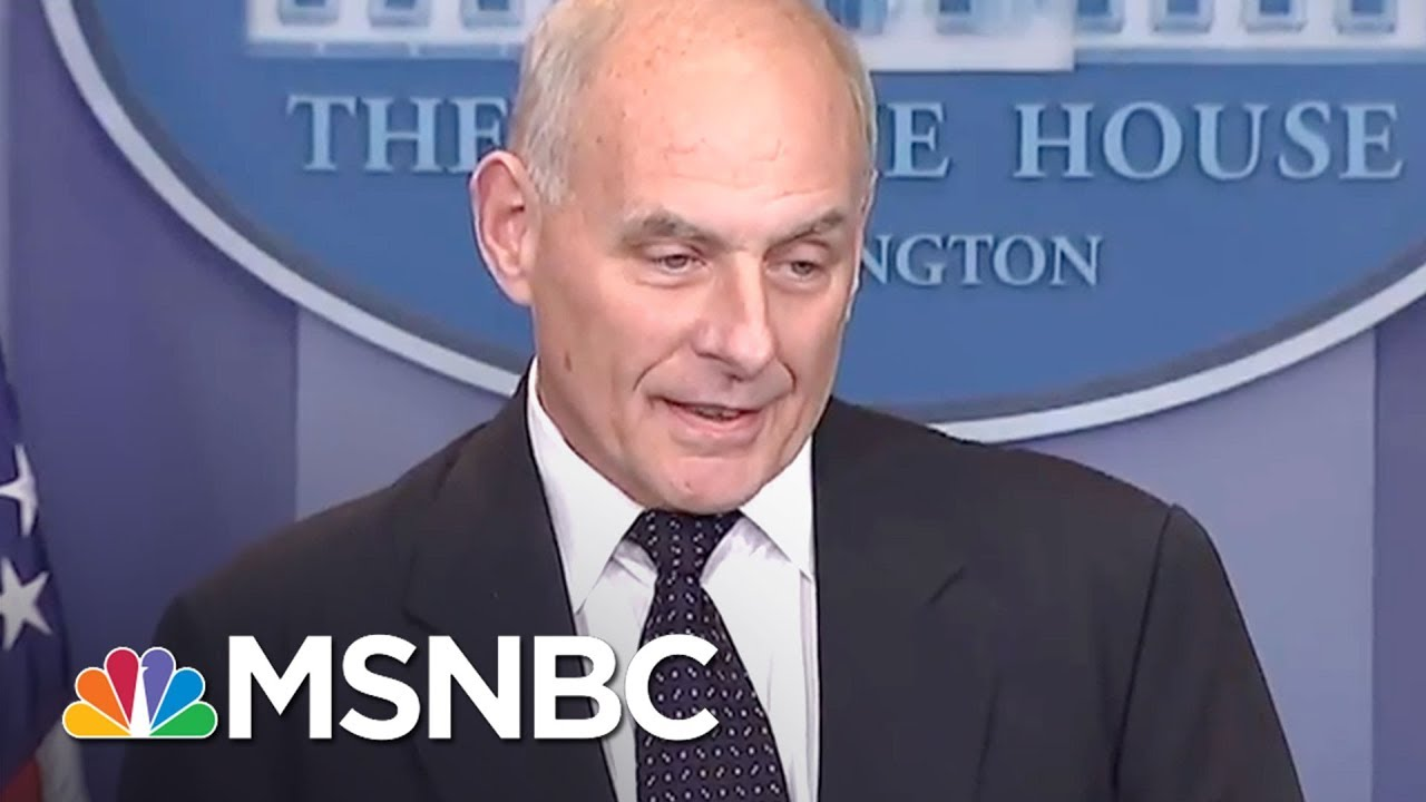 General John Kelly Now Part Of White House Fact Problem | The Last Word | MSNBC thumbnail