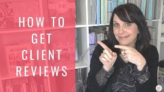 How To Get Client Reviews