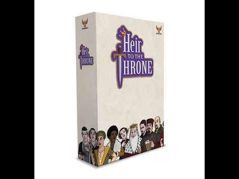 Heir to the Throne at Origins 2018