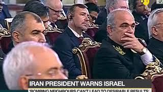 Iran President warns Israel