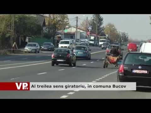 Al treilea sens giratoriu, în comuna Bucov