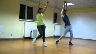 Robyn - Call Your Girlfriend jazz-funk choreography by Vladimir Osipenko - Dance studio JAZZER