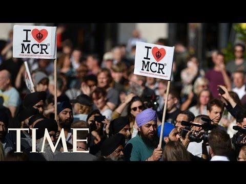 Vigil For The Victims Of The Manchester Attack | TIME