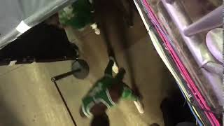 Kyrie Irving tells a 76ers fan to 's*** my d***'