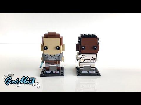 Vidéo LEGO BrickHeadz 41602 : Rey