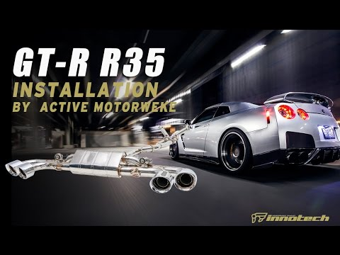The iPE exhaust for GT-R R35
