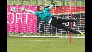 Manuel Neuer  - Training Preparation World Cup 2018  | HD